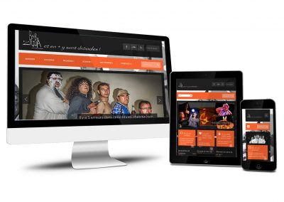 BobZigua, site WordPress groupe de musiciens
