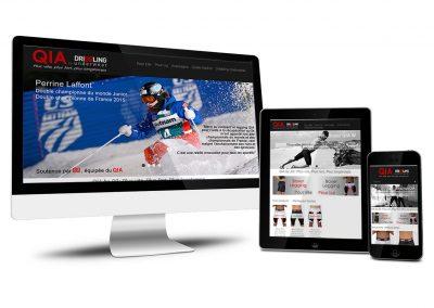 QIA.dribbling.com, site prestashop de vente des sous-vêtements techniques