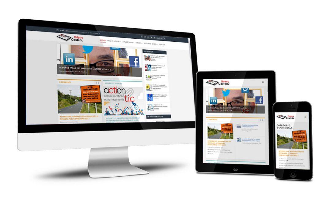 ThierryCouteau.com, mon premier site de personal branding